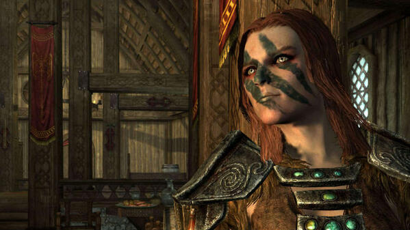 aela the huntress from elder scross v skyrim