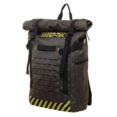 bioworld fallout 76 vault-tec tactical backpack