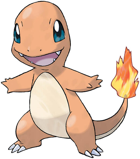 charmander fire type pokemon