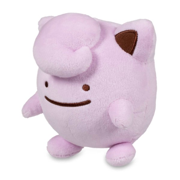 ditto as jigglypuff poke plush