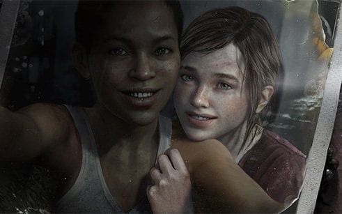 ellie and riley from the last of us