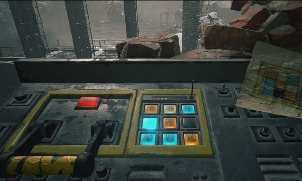 Floodgate puzzle from Resident Evil Village