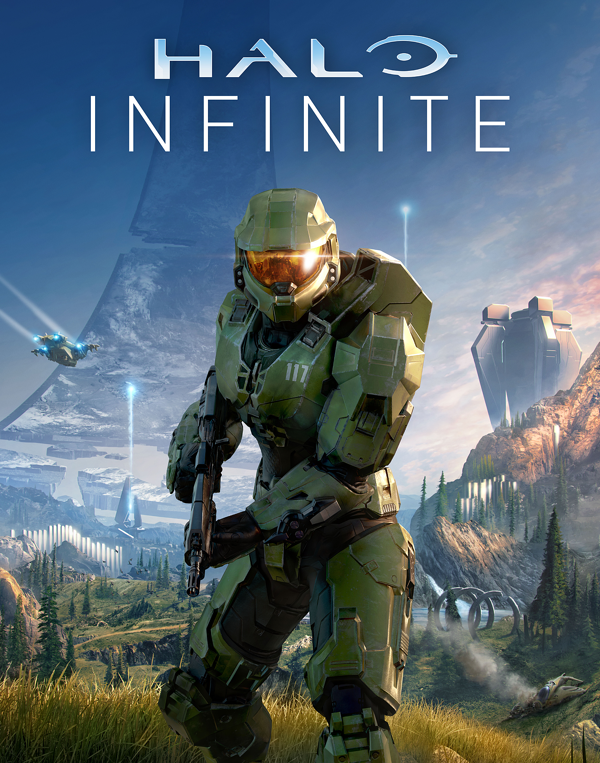 Halo Infinite box art features Master Chief.