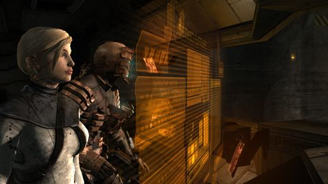 isaac and nicole from dead space
