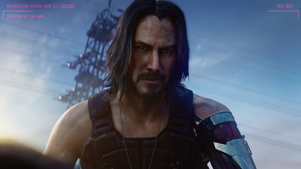 keanu reeves as johnny silverhand cyberpunk 2077