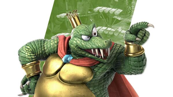 King K Rool from Donkey Kong Country and Smash Bros. Ultimate