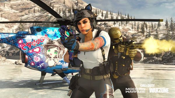 Mara Notice Meow skin in Call of Duty Warzone
