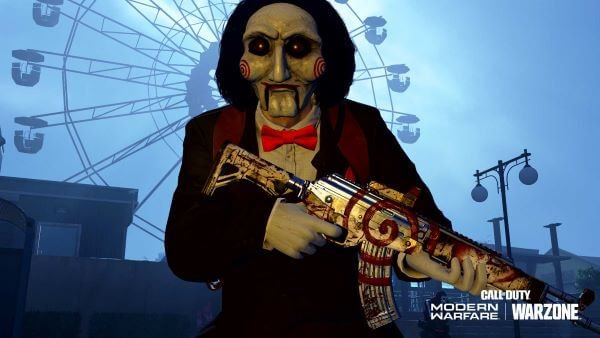 Morte SAW Billy the Puppet skin in Call of Duty Warzone