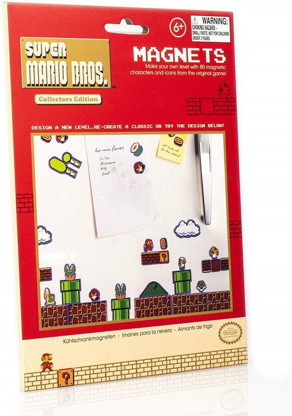 paladone super mario bros fridge magnets