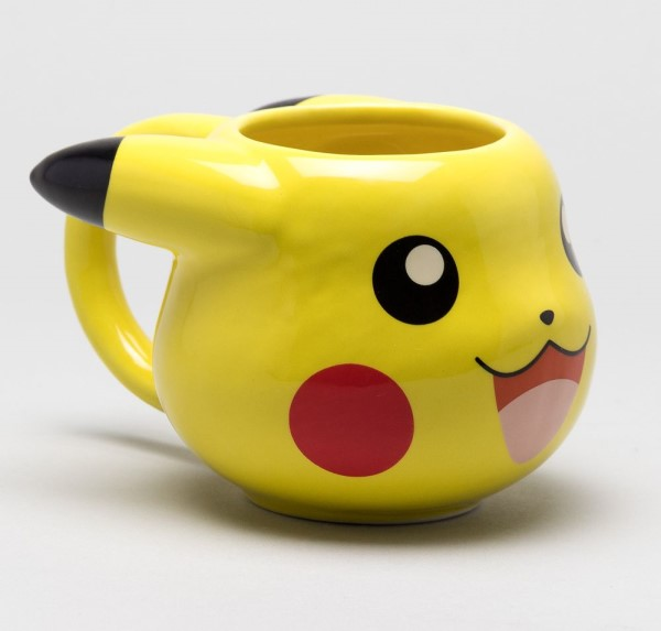 pokemon pika power shaped mug