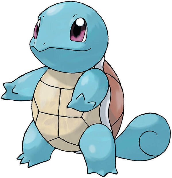 squirtle water type pokemon