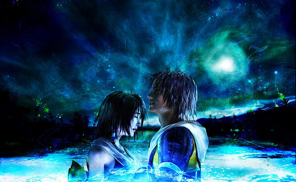 tidus and yana from final fantasy x