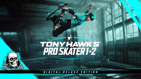 Tony Hawk's Pro Skater 1 + 2 Digital Deluxe Edition