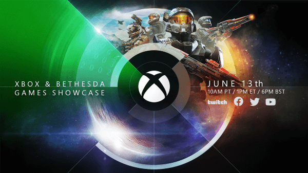 The E3 2021 Xbox and Bethesda Games Showcase at E3 2021 takes place on Sunday, June 13 at 10 AM PT/1 PM ET.