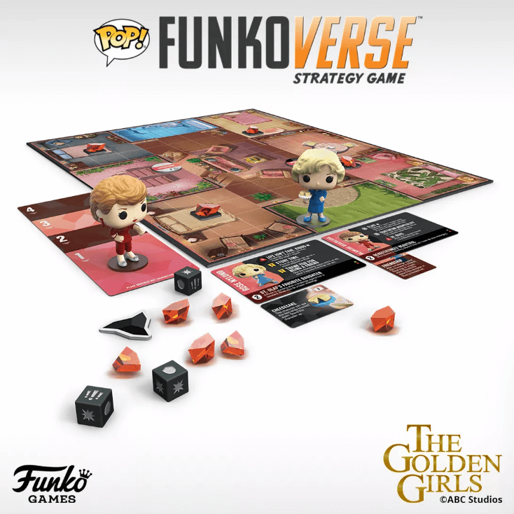 Golden Girl Funko board game