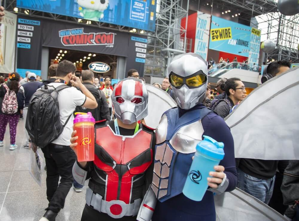 antman and the wasp at new york comic con 2019