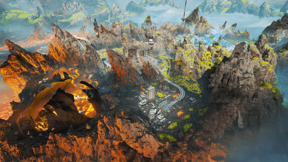 Apex Legends Season 3 World's Edge map