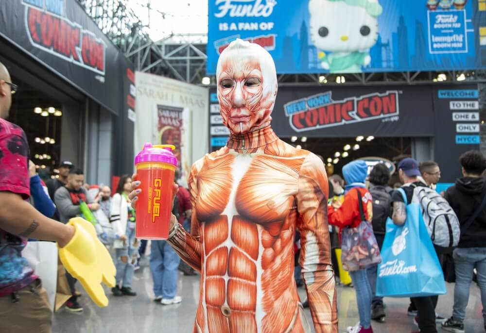 attack on titan cosplay at new york comic con 2019