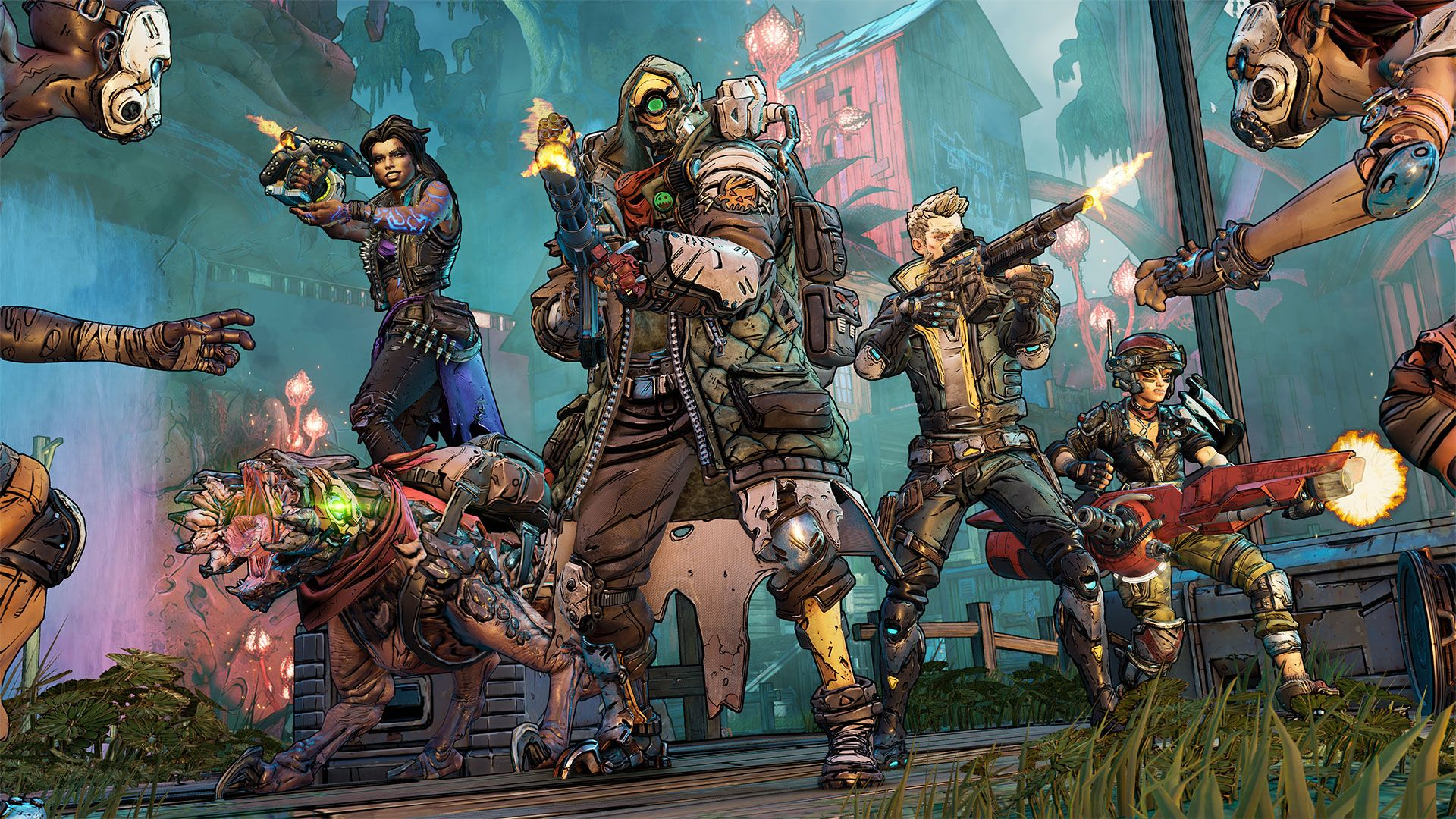 bl3 characters
