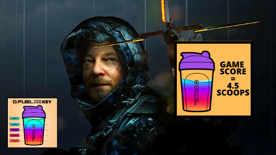 death stranding rating 4.5 g fuel scoops