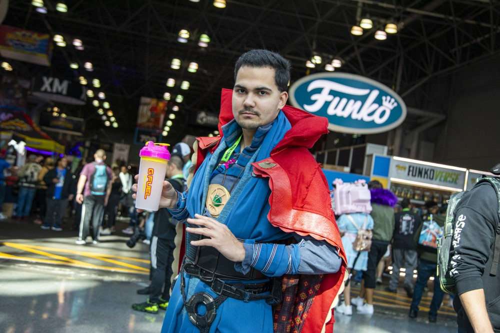 dr strange cosplay at new york comic con 2019