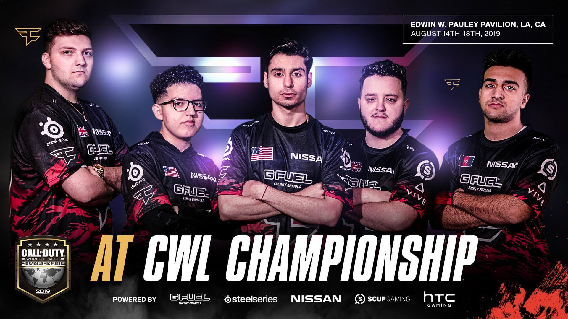 faze clan at cwl championship 2019