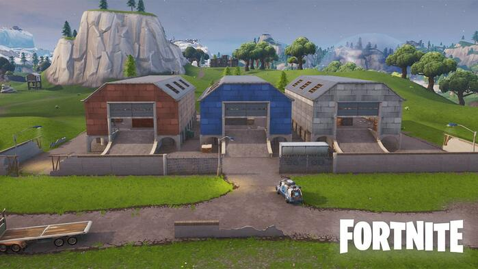 fortnite season x dusty depot map changes