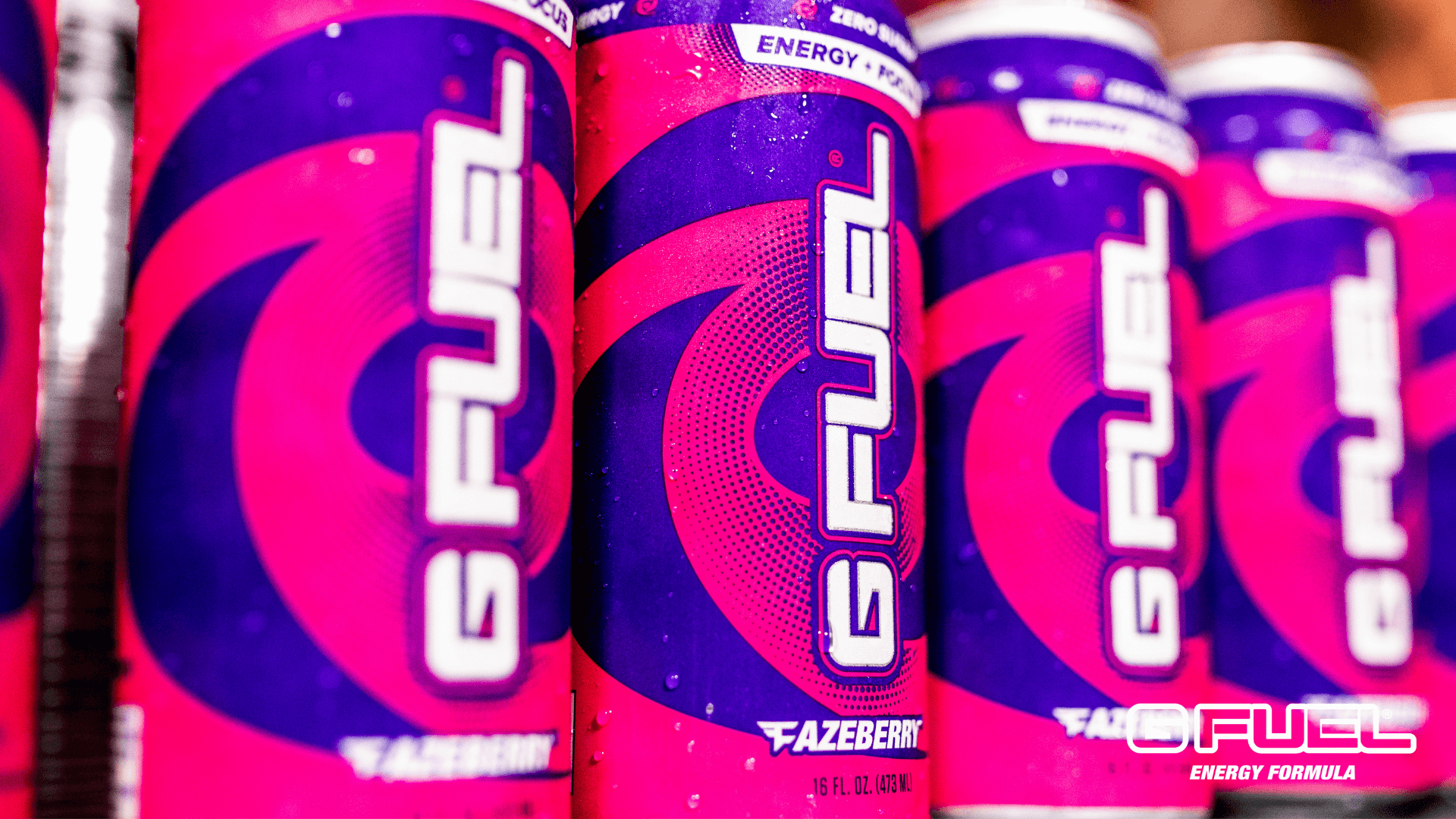 G FUEL FaZeberry cans at BLAST Pro Series Los Angeles 2019