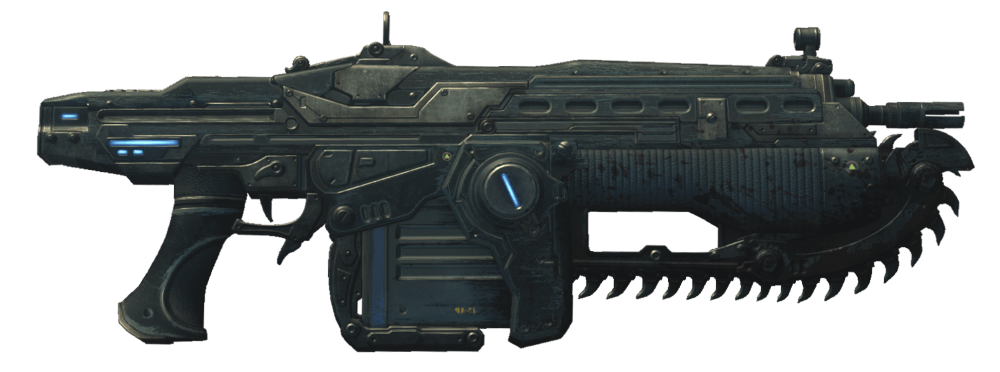 gears of war mark 2 lancer assault rifle