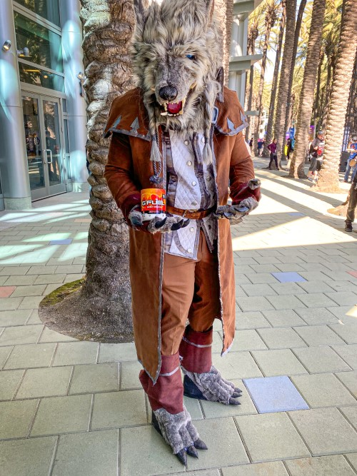 genn greymane from world of warcraft