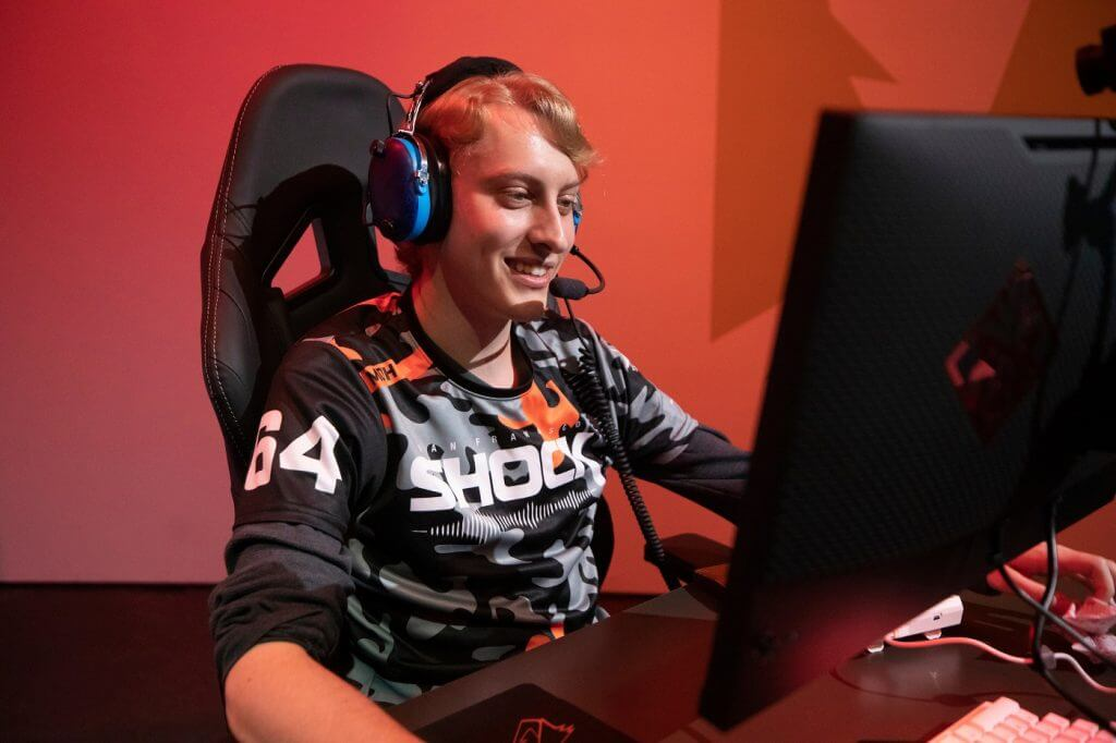 "Grant ""Moth"" Espe on the San Francisco Shock"