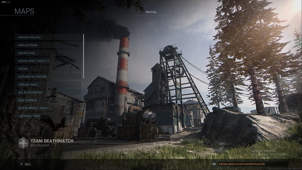 gun runner map in call of duty modern warfare