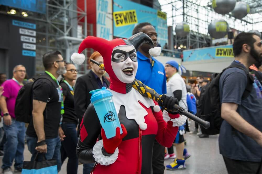 harley quinn cosplay at new york comic con 2019