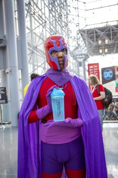 magneto cosplay at new york comic con 2019