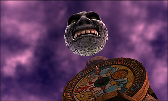 the moon from the legend of zelda majora's mask