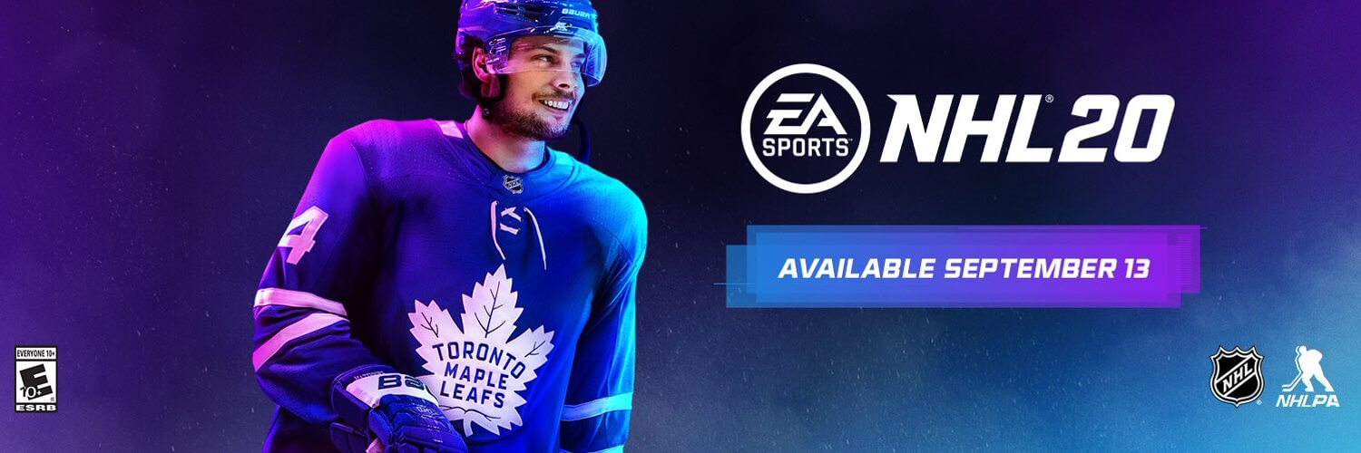 EA Sports NHL 20 release date is September 13, 2019