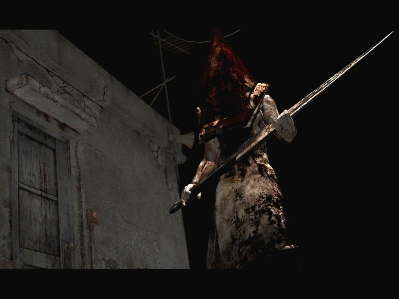 pyramid head from silent hill 2 restless dreams