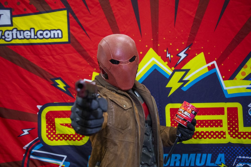 red hood cosplay at new york comic con 2019