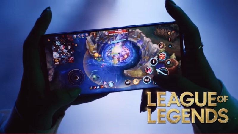 Riot Games League of Legends Wild Rift on mobile