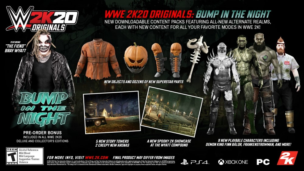 wwe 2k20 originals bump in the night